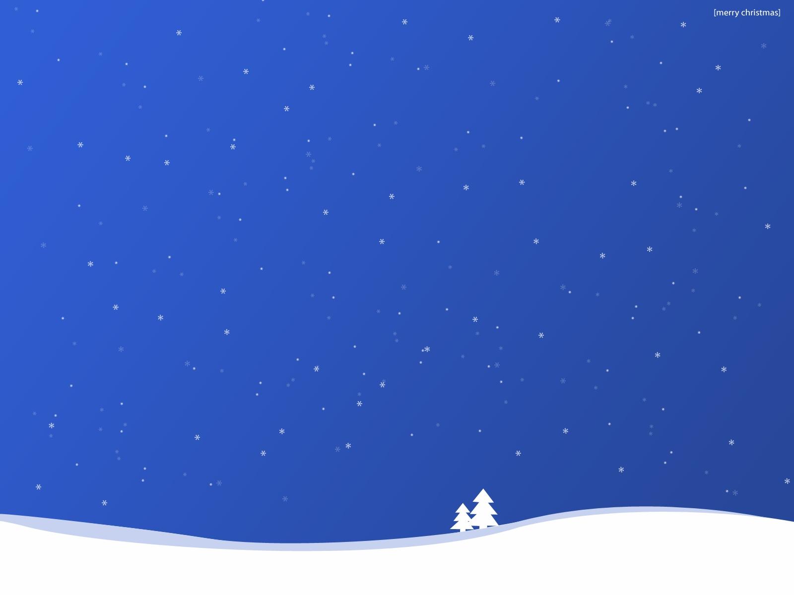 Free Snowy Christmas Desktop Wallpapers Www
