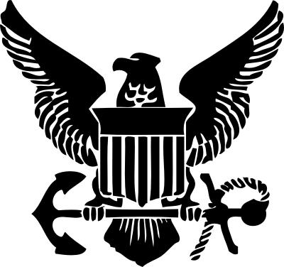 military logos vector   army, navy, air force, marine and coast