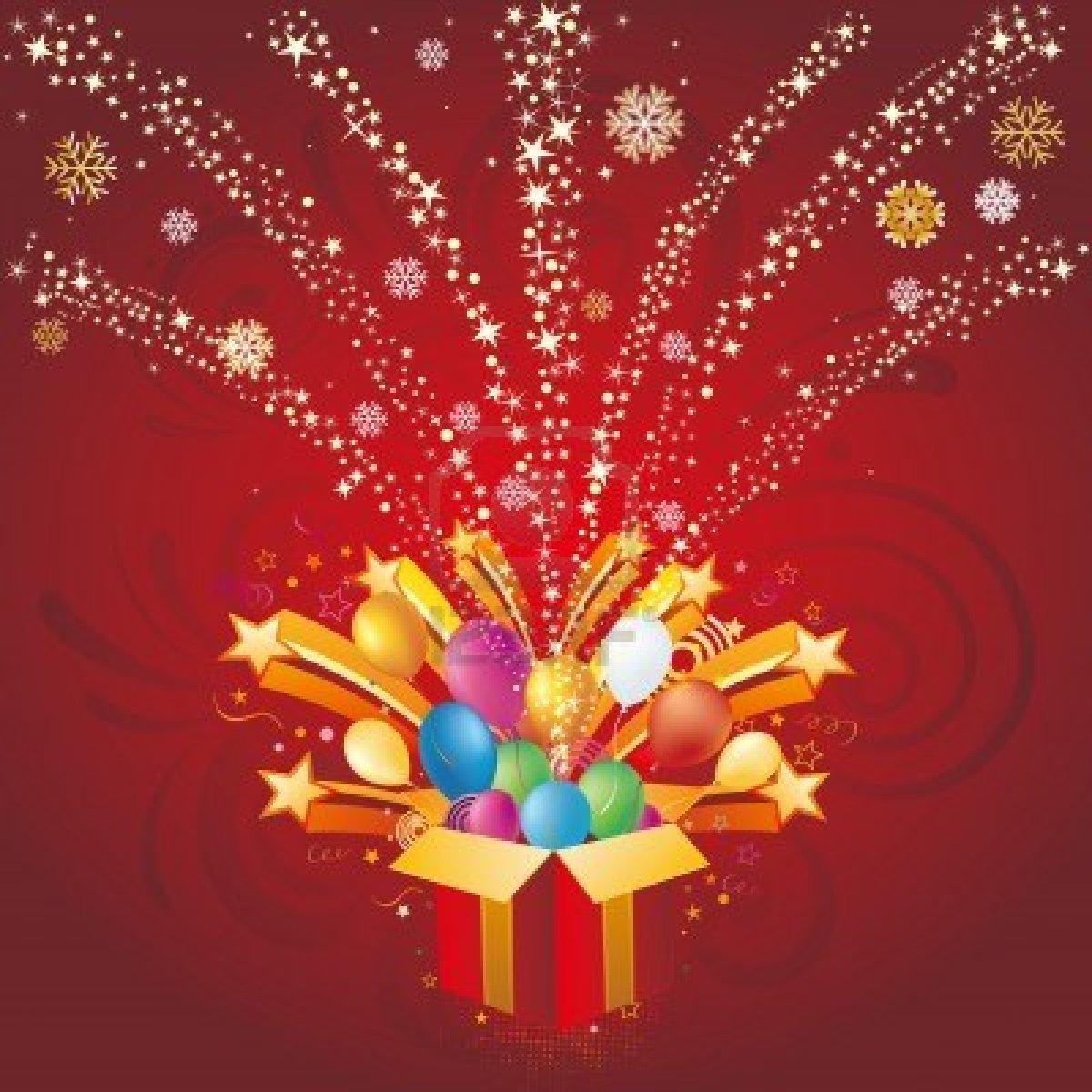 Brc Holiday Celebration Photos 2015: 8174096-gift-box-and-star-christmas-celebration-background