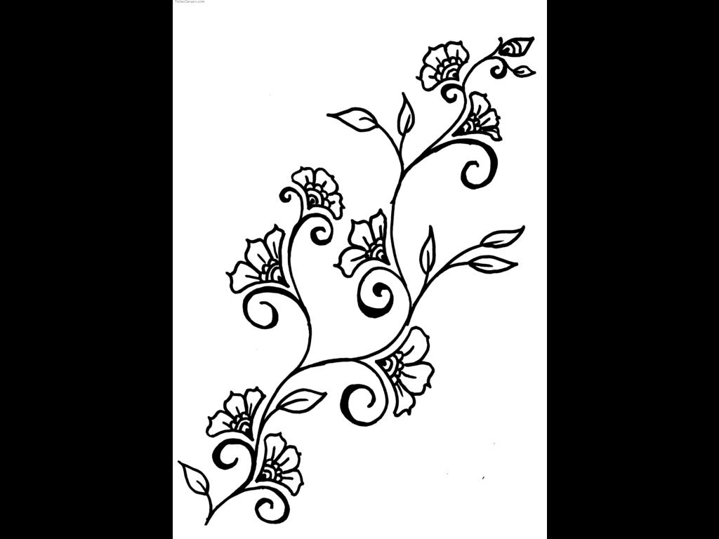 Free Hawaiian Flowers Drawings Download Free Clip Art