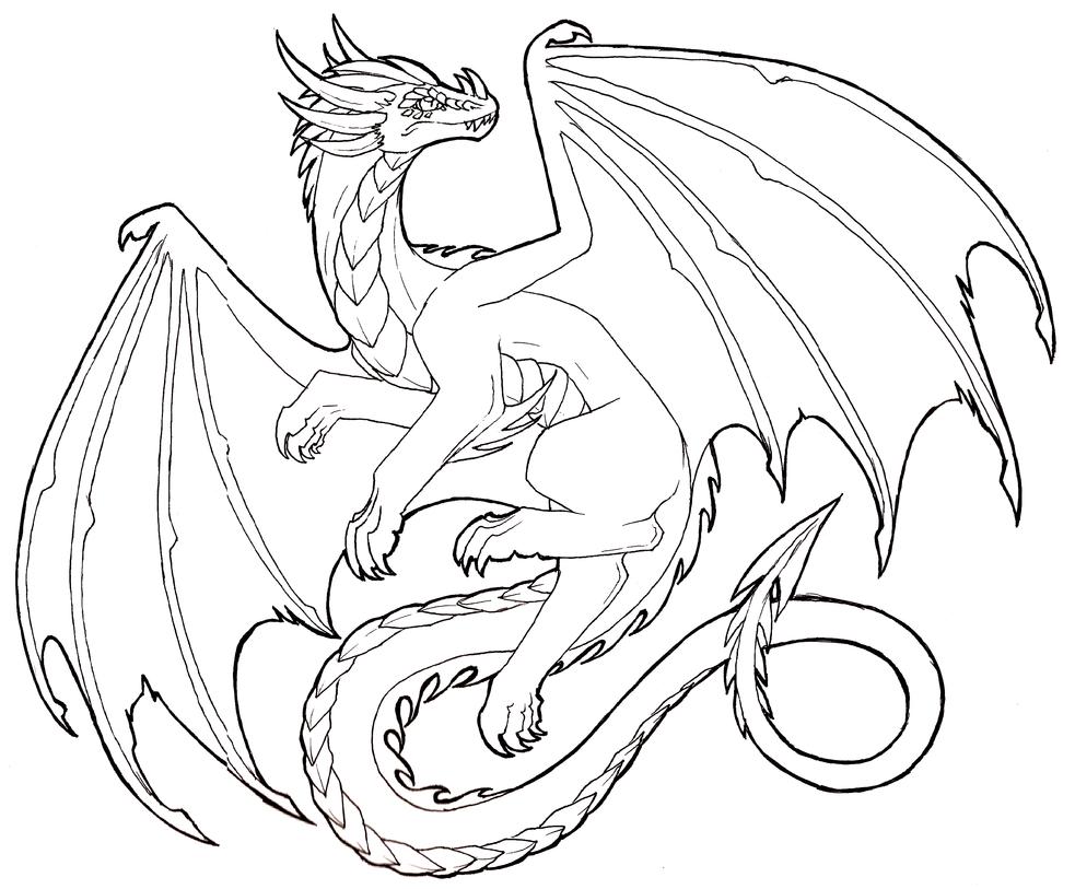 Free Dragon Drawing, Download Free Clip Art, Free Clip Art ...