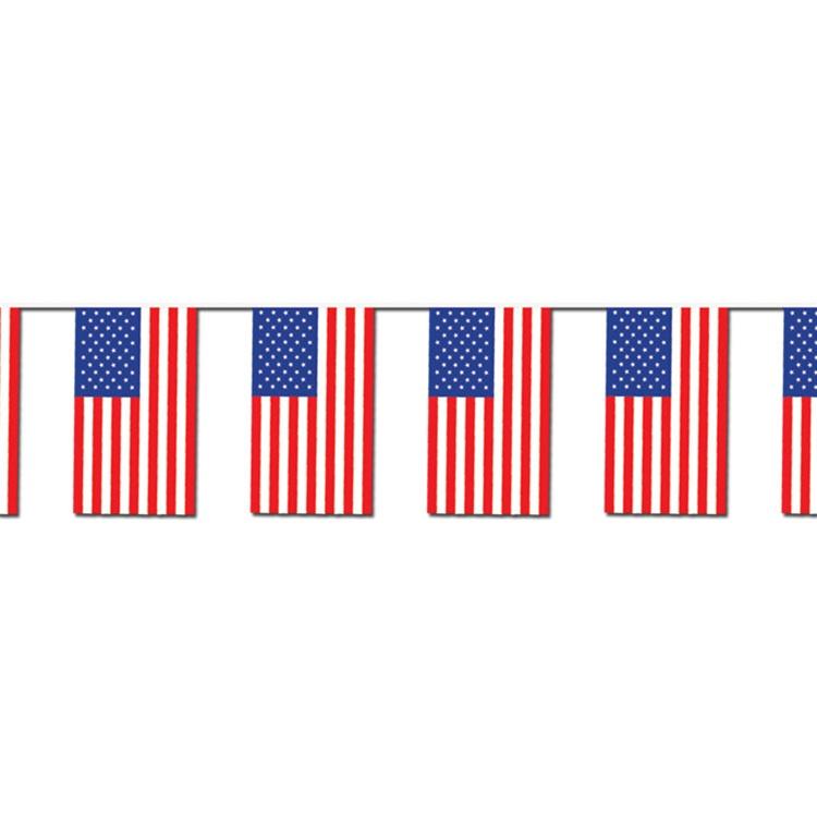 Free American Flag Page Border