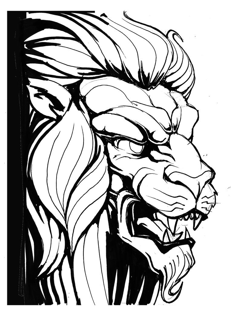 Free Lion Head Image Download