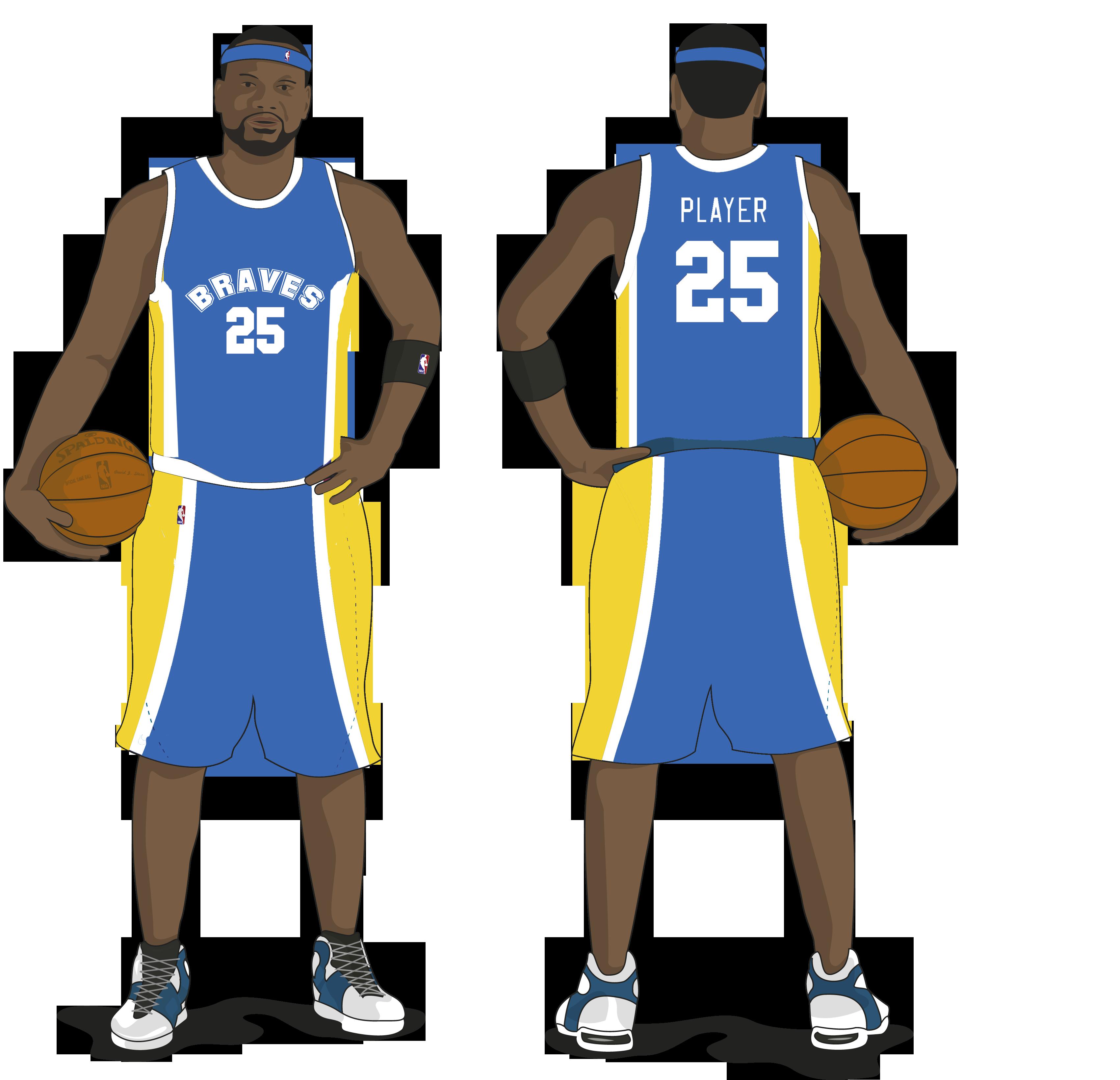 Free Basketball Jersey Template