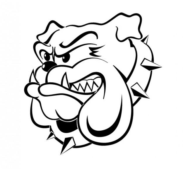 bulldog vector | free download clip art | free clip art | on