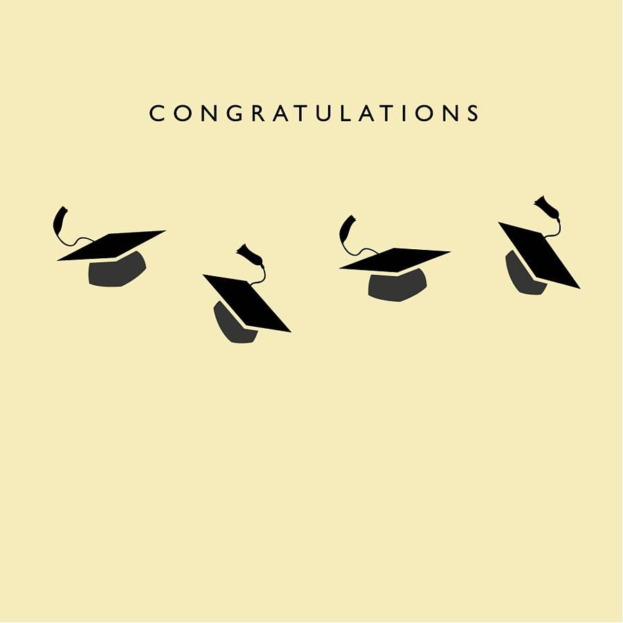 congratulations graduation card by loveday designs