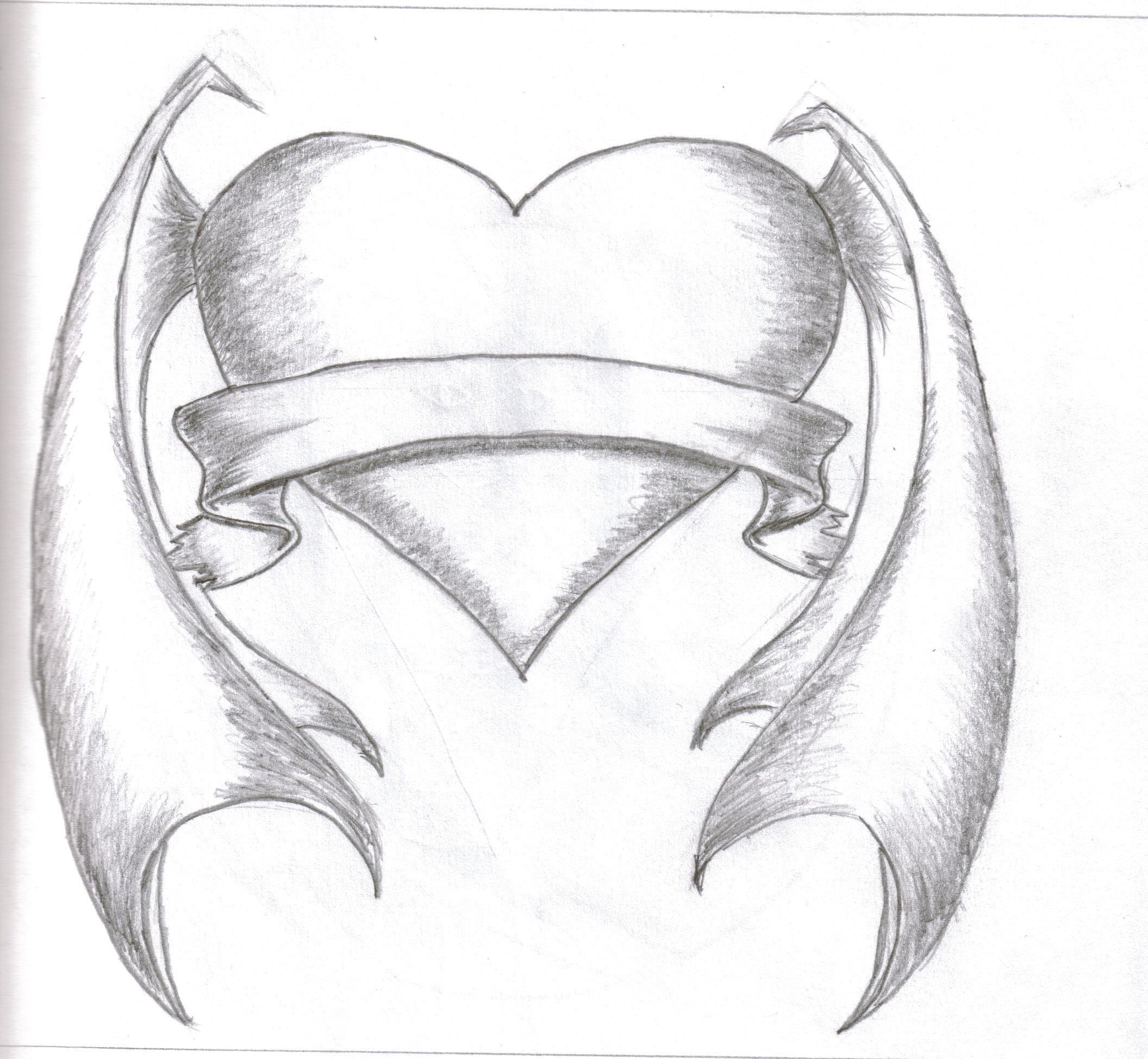 Art Drawings: Free Heart Drawings, Download Free Clip Art, Free Clip Art