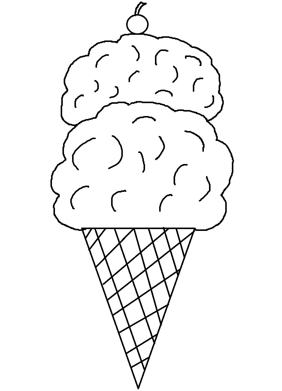 Ice cream printables on Clipart