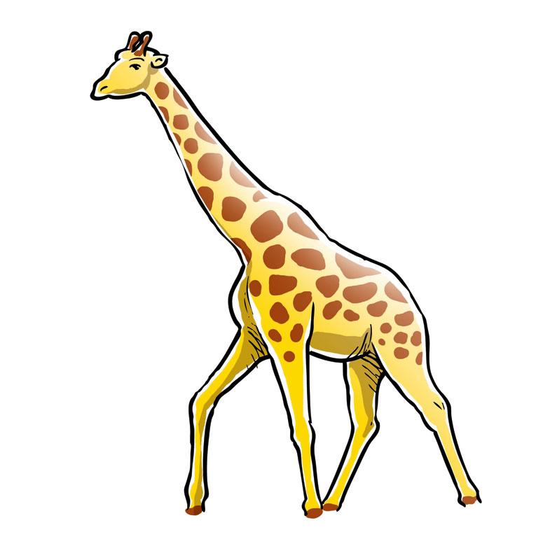 Картинка жираф детские