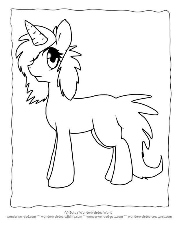 Free Cartoon Unicorns Download
