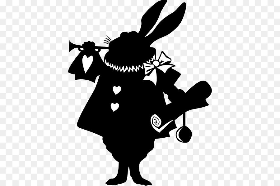 Free Alice In Wonderland Silhouette