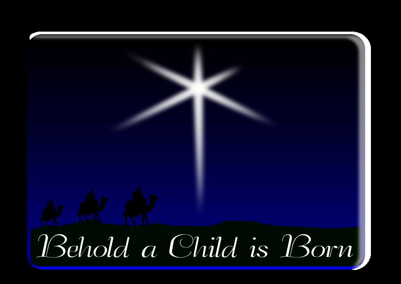 Star of Bethlehem Clip art - nativity vector png download ...