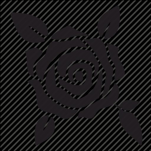 Black rose Silhouette Clip art - Svg Rose Free png download - 512*512 - Free Transparent Rose ...