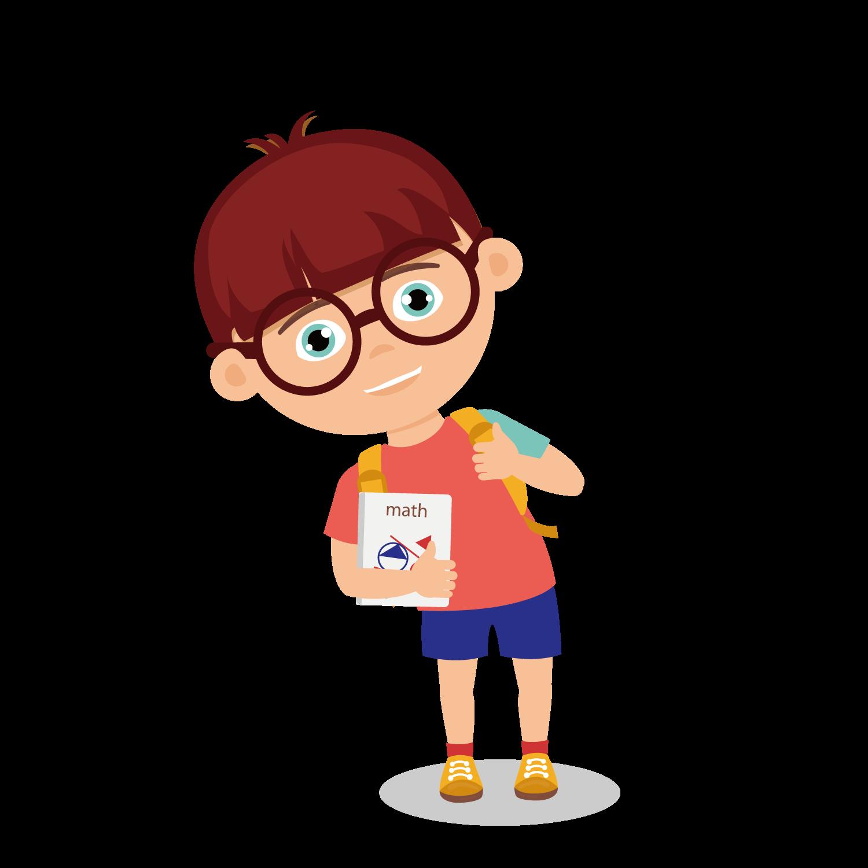 Boy Drawing Clip art - Hand drawn school boy png download ...