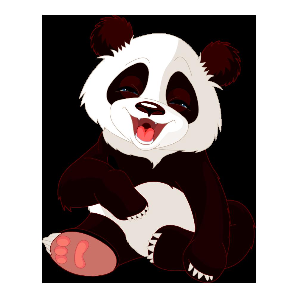 Панда картинки без фона