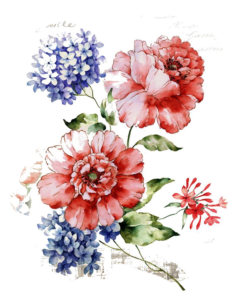 Flower Floral Design Wallpaper Beautiful Vintage Floral Pattern