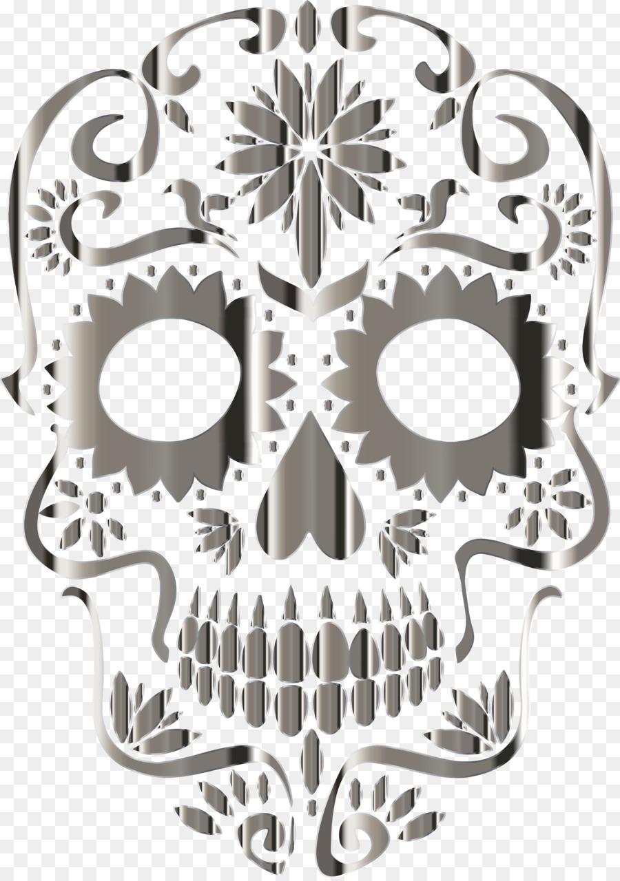 Calavera Skull Day Of The Dead Pastel Desktop Wallpaper Sugar