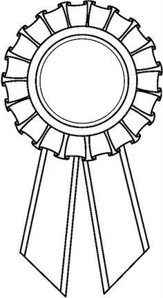 Ninja Star Template Free Award Ribbon Clip...