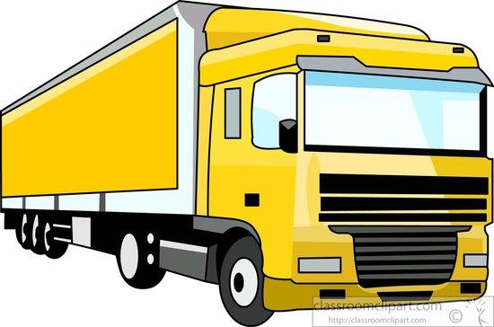 Clipart Trailer Truck