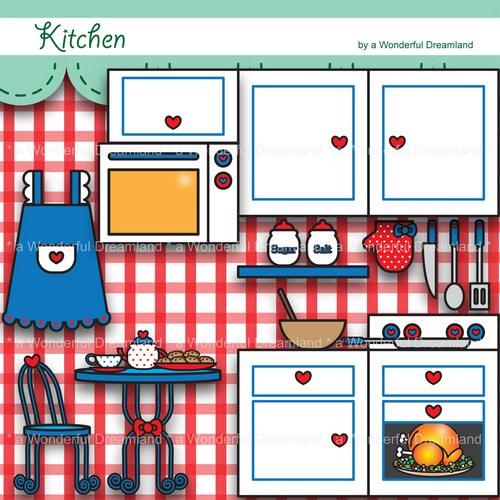 Kitchen Design Clip Art: Free Play Kitchen Cliparts, Download Free Clip Art, Free