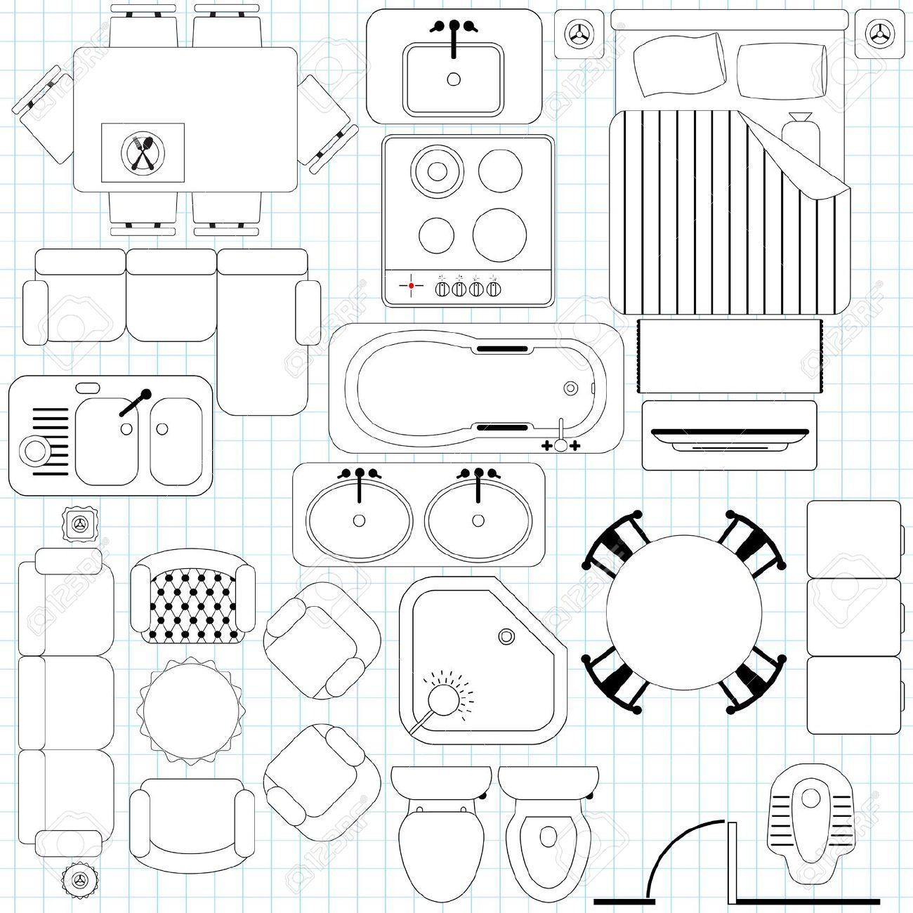 Architectural Drawing Symbols Free