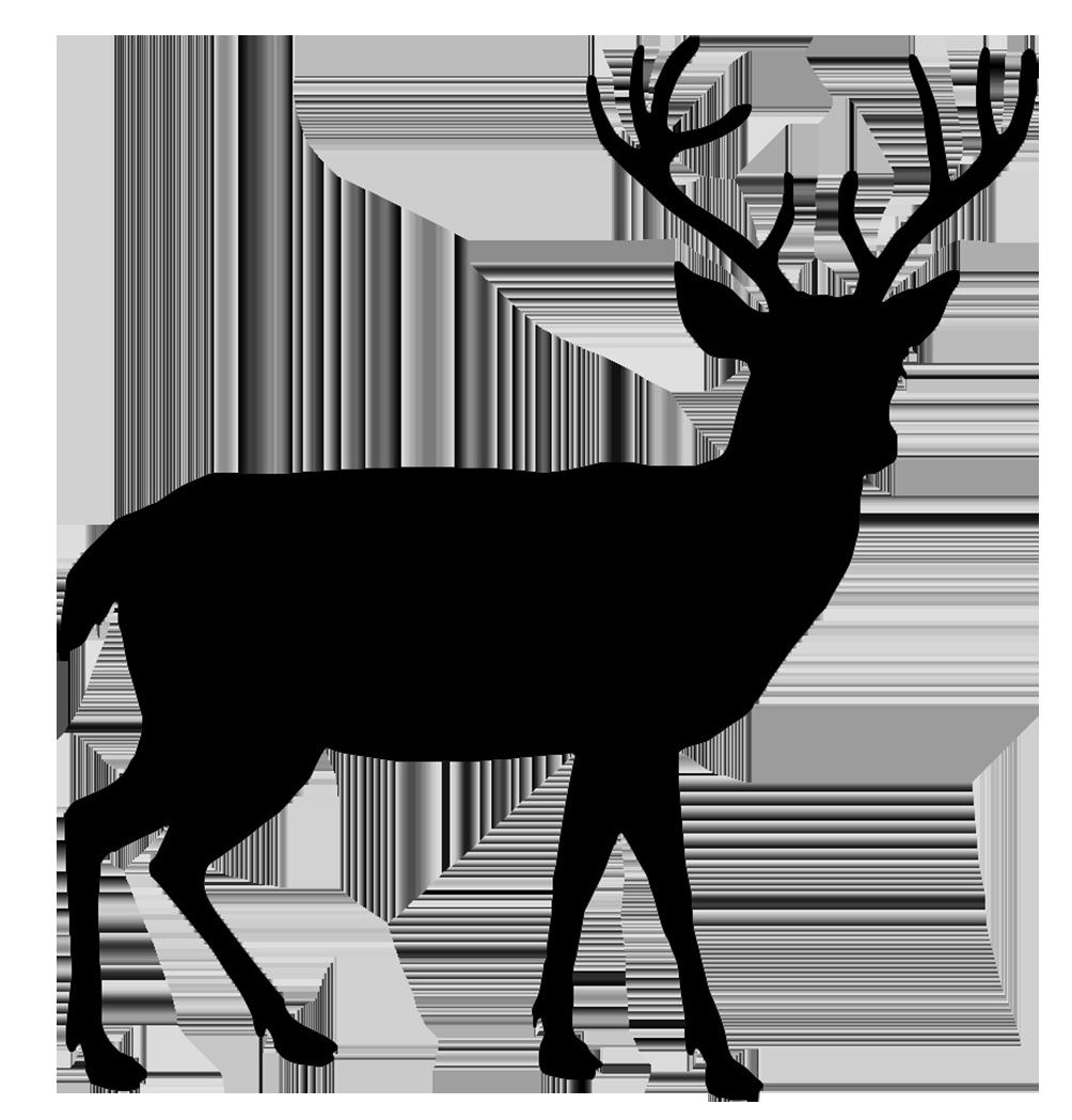 Free Reindeer Silhouet...