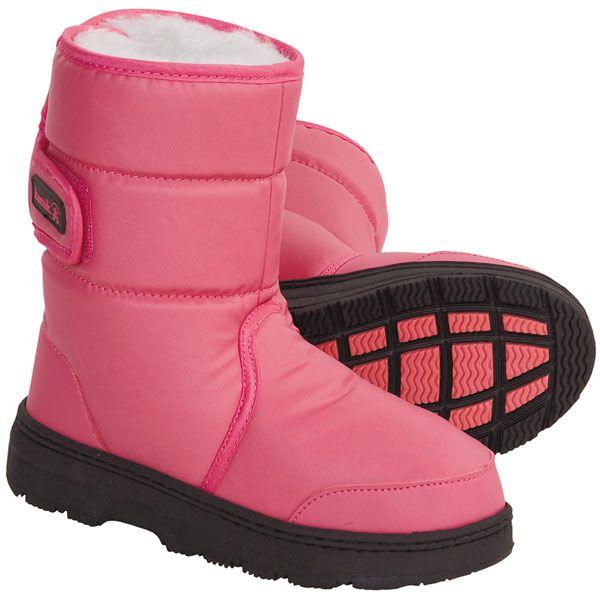 Kids Snow Boots Clipart Winter