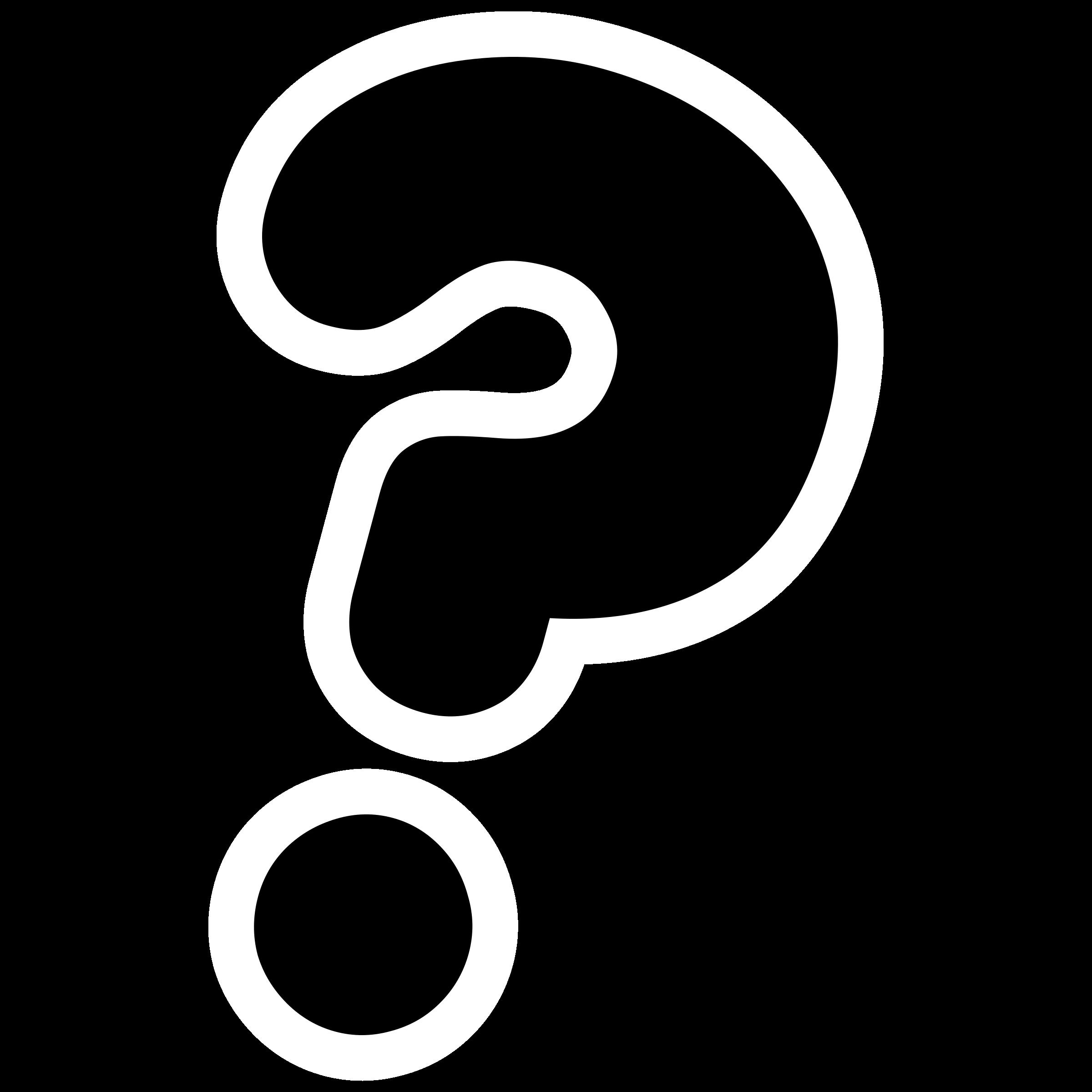 Черно белый знак вопроса картинки