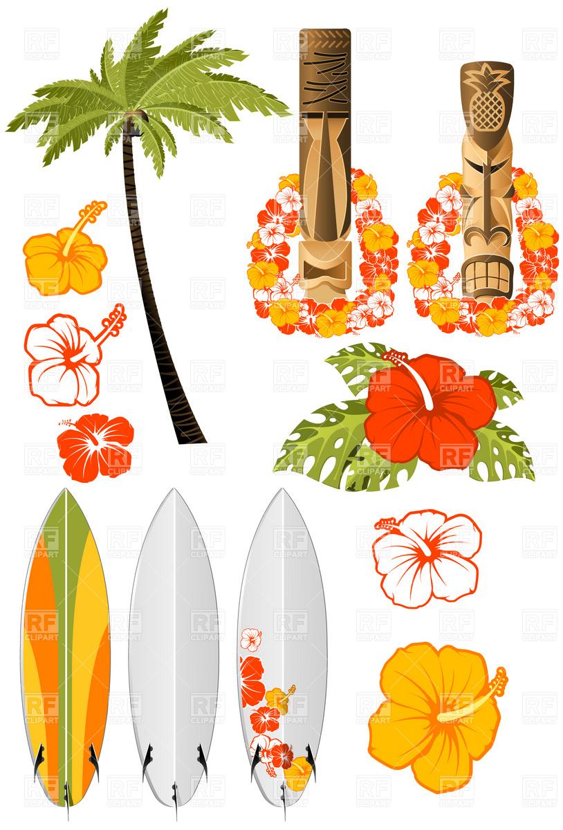 Free Hawaiian Santa Cliparts, Download Free Clip Art, Free ...