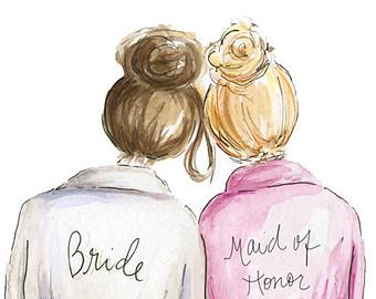 Free Funny Bridesmaid Cliparts Download Free Clip Art