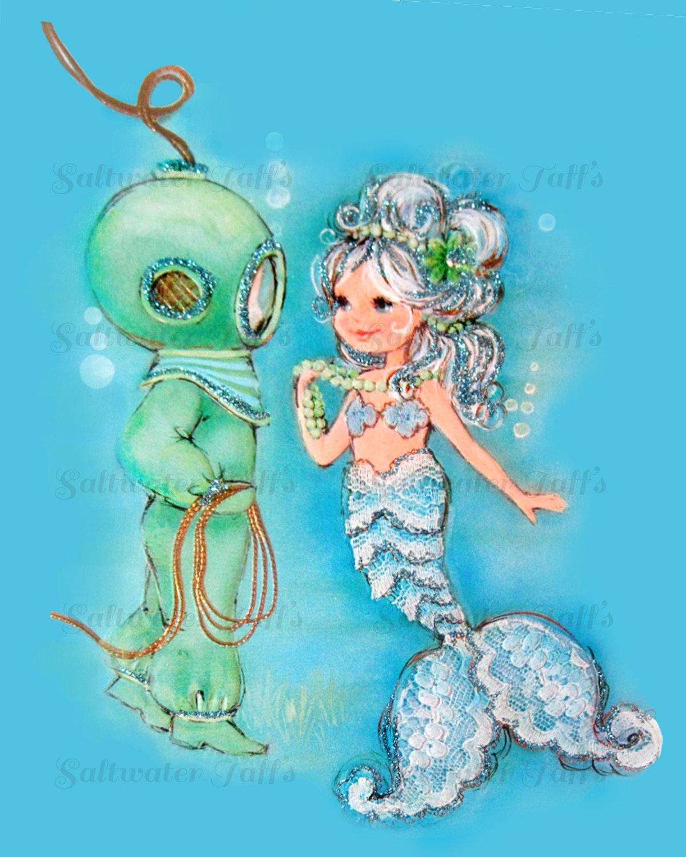 Free Vintage Mermaid Cliparts Download Free Clip Art