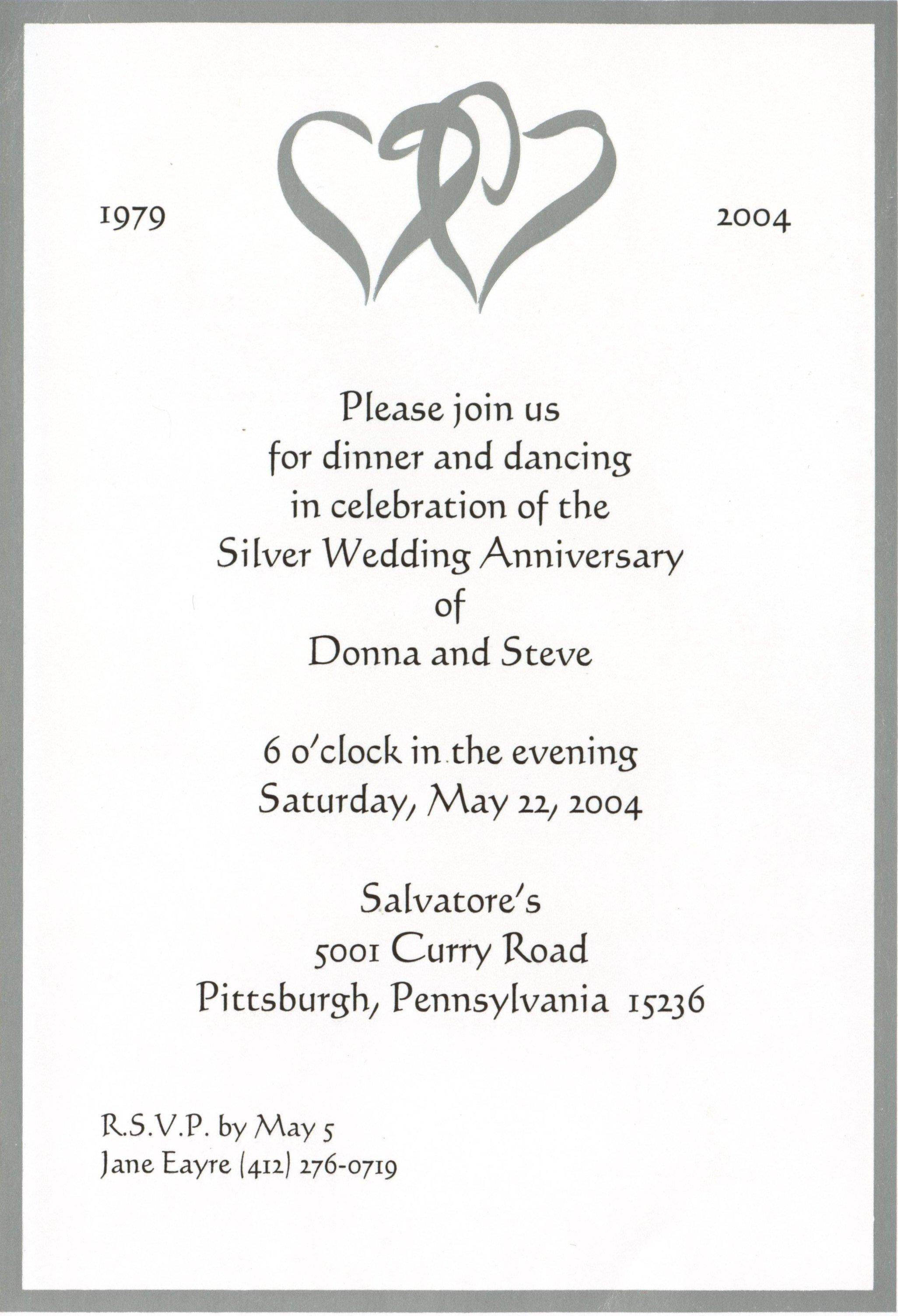 Free Anniversary Invitation Cliparts, Download Free Clip Art, Free