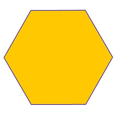 Clipart hexagon shape