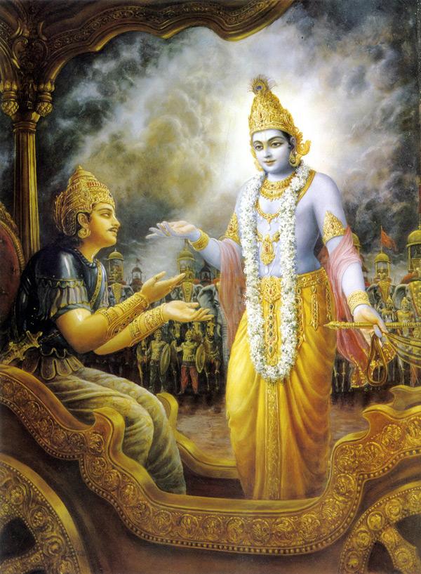 Shri Krishna Geeta Updesh Clipart