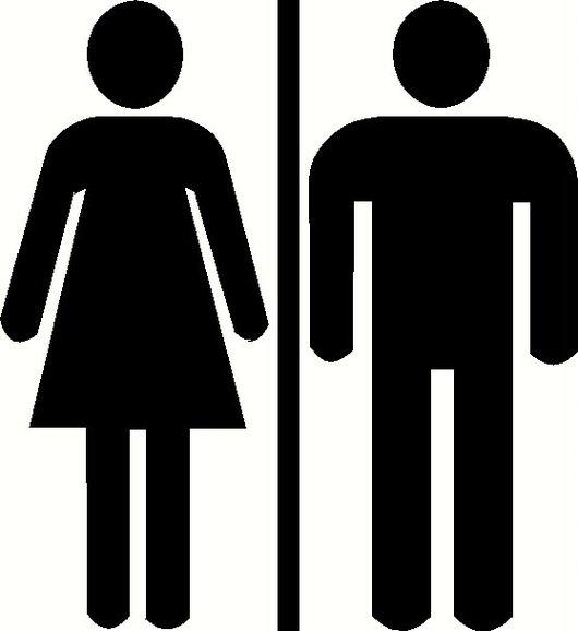 unisex restroom cliparts | free download clip art | free clip art