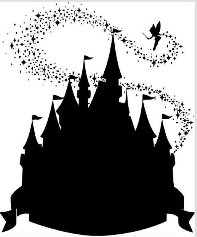 Magic Kingdom Silhouette Clipart