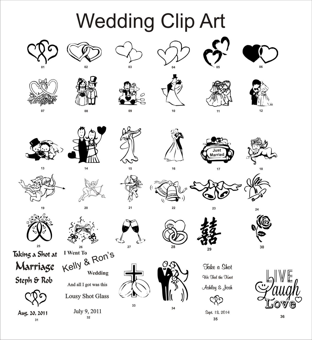 Wedding Reception Clipart