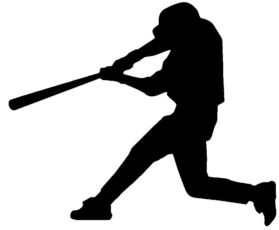 baseball silhouette cliparts | free download clip art | free clip