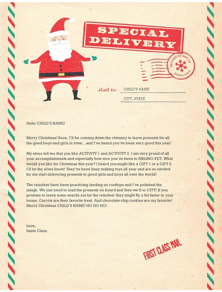 Santa Letter Cliparts Free Download Clip Art