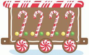 Free Gingerbread Train Cliparts Download Free Clip Art