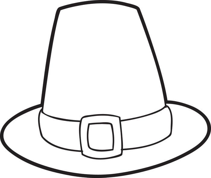Pilgrim boy clipart free black and white - Clip Art Library