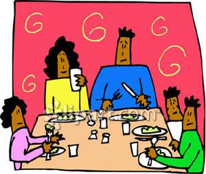 Family Dinner Clip Art Clip Art Library