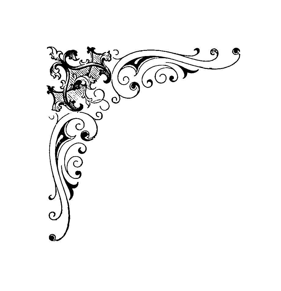 Corner Scroll Designs: Free Corner Designs Cliparts, Download Free Clip Art, Free