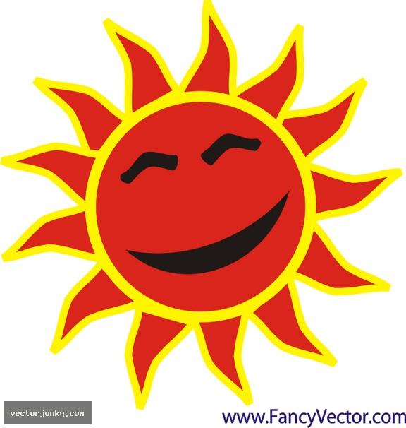 Картинка солнышко красное для детей