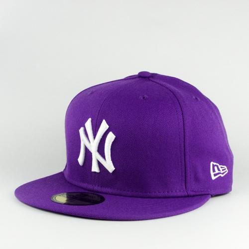 Nysobukyfi New York Yankees Cap Purple