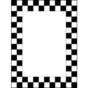 Free Clip Art Checkered Flag