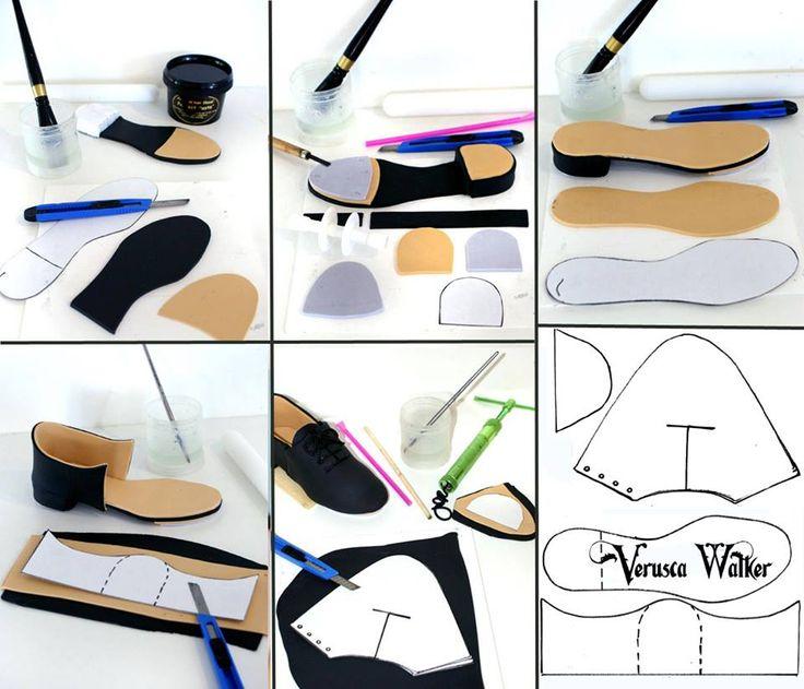 Paper Shoe Printables