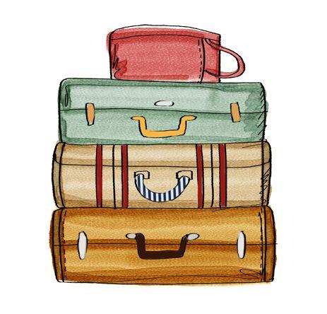 cute suitcase cliparts | free download clip art | free clip art