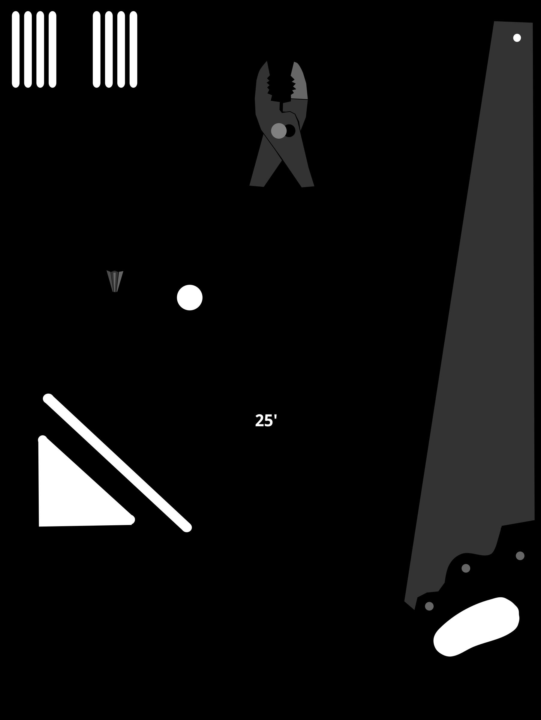 Carpenter Clipart Black And White
