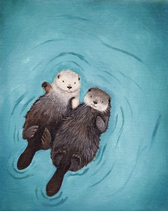 Photos Otter Love